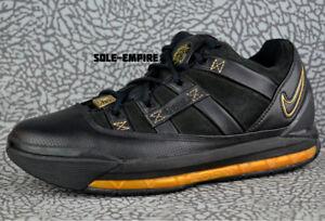 c5a3663ad567 Nike WMNS Lebron III Low 314687-002 Black Metallic Gold James 3 RARE ...
