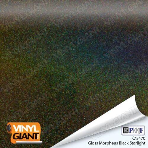 KPMF K75470 IRIDESCENT GLOSS MORPHEUS BLACK  Vinyl Car Wrap Film Roll