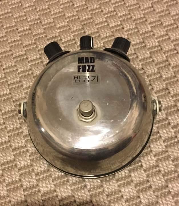 RARE HONDA SOUND WORKS MAD FUZZ EDITION ELECTRIC GUITAR EFFECT PEDAL