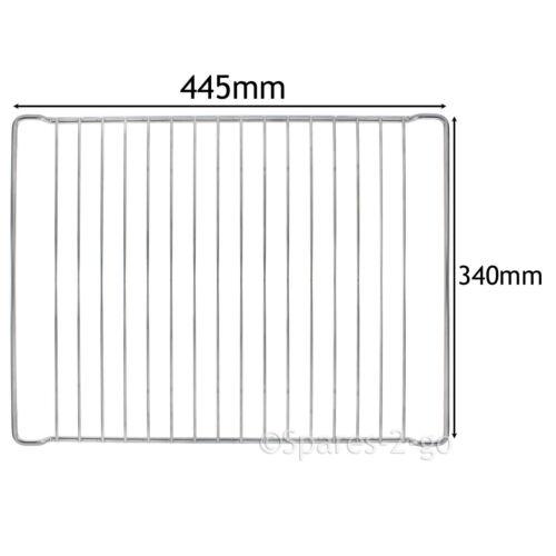 Cuisinière 445 mm x 340 mm Chrome Grill étagère rack pour masses pour Four