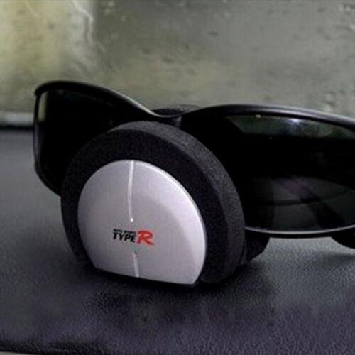 Gafas de sol paneles coche 1x tarjeta de nombre de Clip billete Organizador sostenedor de la pluma