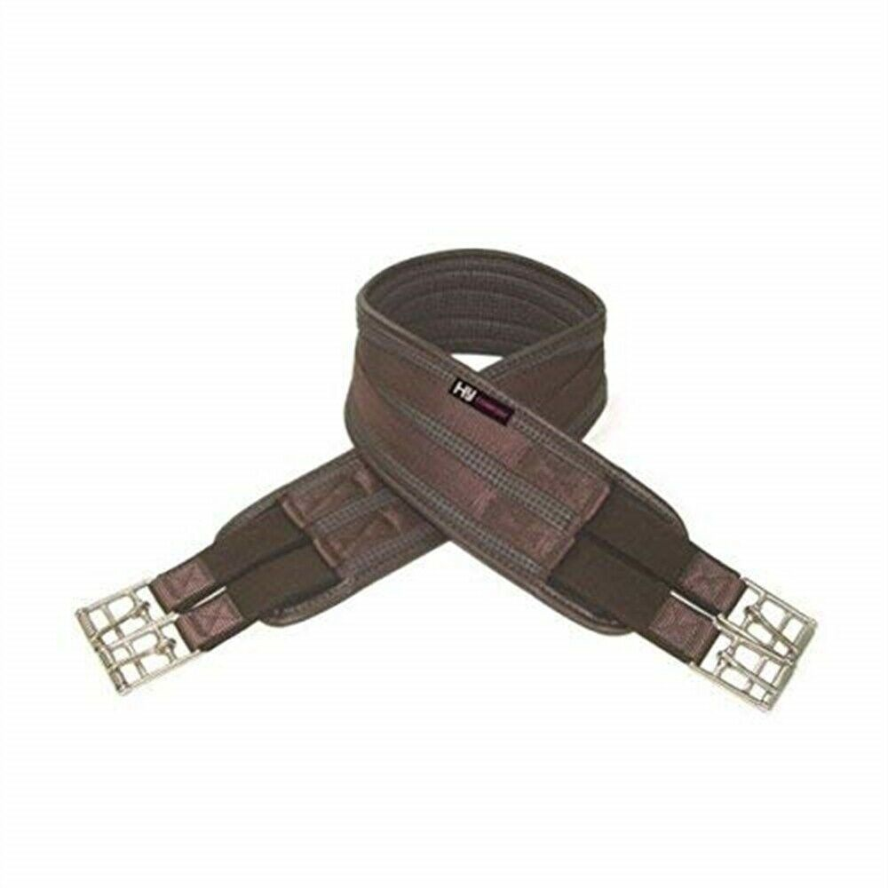 Hycomfort Waffle Girth - Brown - Elasticated Both Ends - 54''