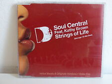 CD 7 titres  SOUL CENTRAL feat KATHY BROWN Strings of life FTR4201 2