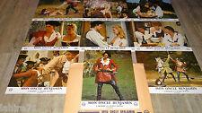 jacques brel MON ONCLE BENJAMIN ! jeu 9 photos cinema  lobby card 1969