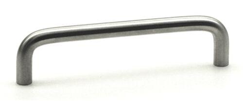 Meubles Poignée Meubles Poignées Poignée acier nickel mat 10 mm BA 128 mm