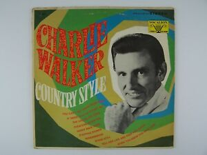 Charlie Walker - Country Style Vinyl LP Record Album VL