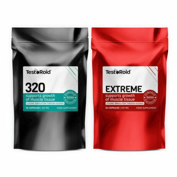 TESTOROID Combo Ultimate Testosterone Booster & Estrogen Blocker Duo for sale online eBay