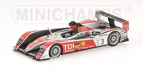 Audi R10 Luhr Premat Rockenfeller 24h Le uomos 2008 1 43 modello MINICHAMPS