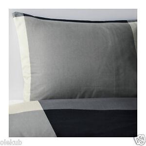 Ikea Full Queen Brunkrissla Duvet Cover Pillowcases