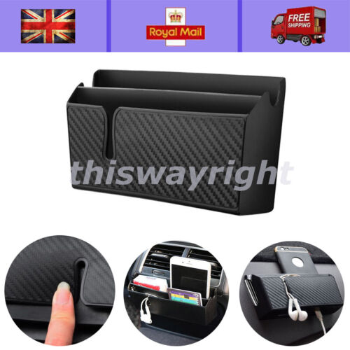 W// Charging Hole Easy to Charge Box Auto Car Accessories Phone Organizer Bag