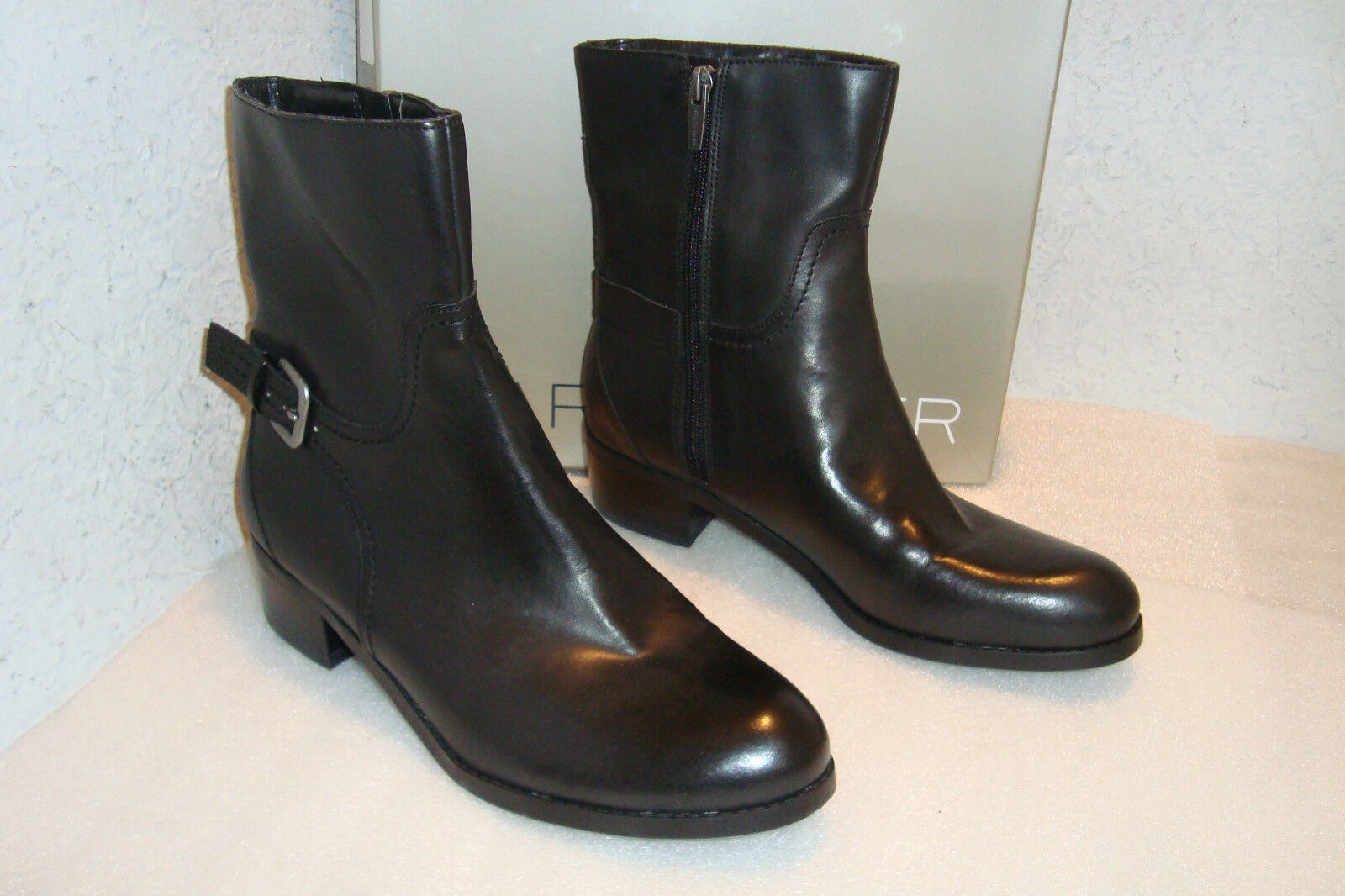 Marc Fisher Womens NWB Trist2 Black Boots Shoes 8 MED NEW