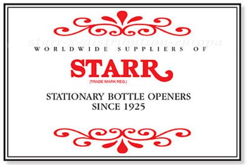 Blood Sweat /& Beers Wandflaschenöffner 70er Capsules receveur Set ORIG Starr X