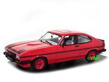 Ford Capri III   1978-1984  signalrot    /  Minichamps  1:43
