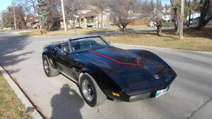 1973 corvette rag top