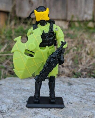 GI Joe Noir Major douane Python Patrol Cobra ALLEY VIPER complet