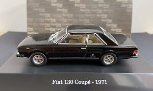 FIAT 130 COUPE (1971] IN BLACK 1/43 SCALE STARLINE MODELS ITALY