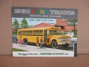 1960-Ford-School-Bus-Chassis-Trucks-Sales-Brochure-Original-B500-B600-B700-B750