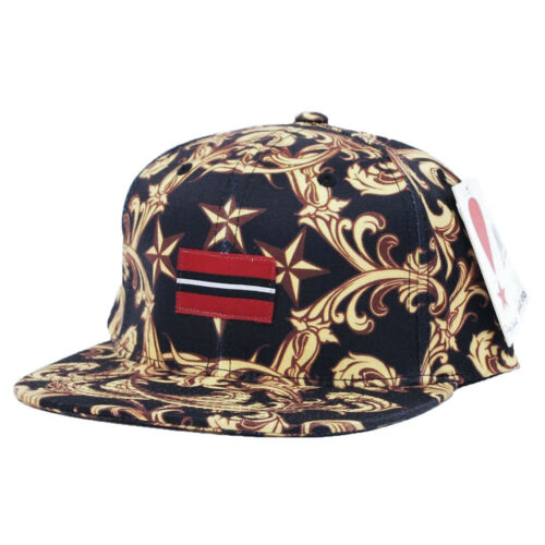 $42 PLAY CLOTHS Raphael Adjustable Hat Cap Caviar One Size Fits All H2
