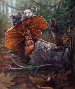 Thanksgiving Fantasy Art