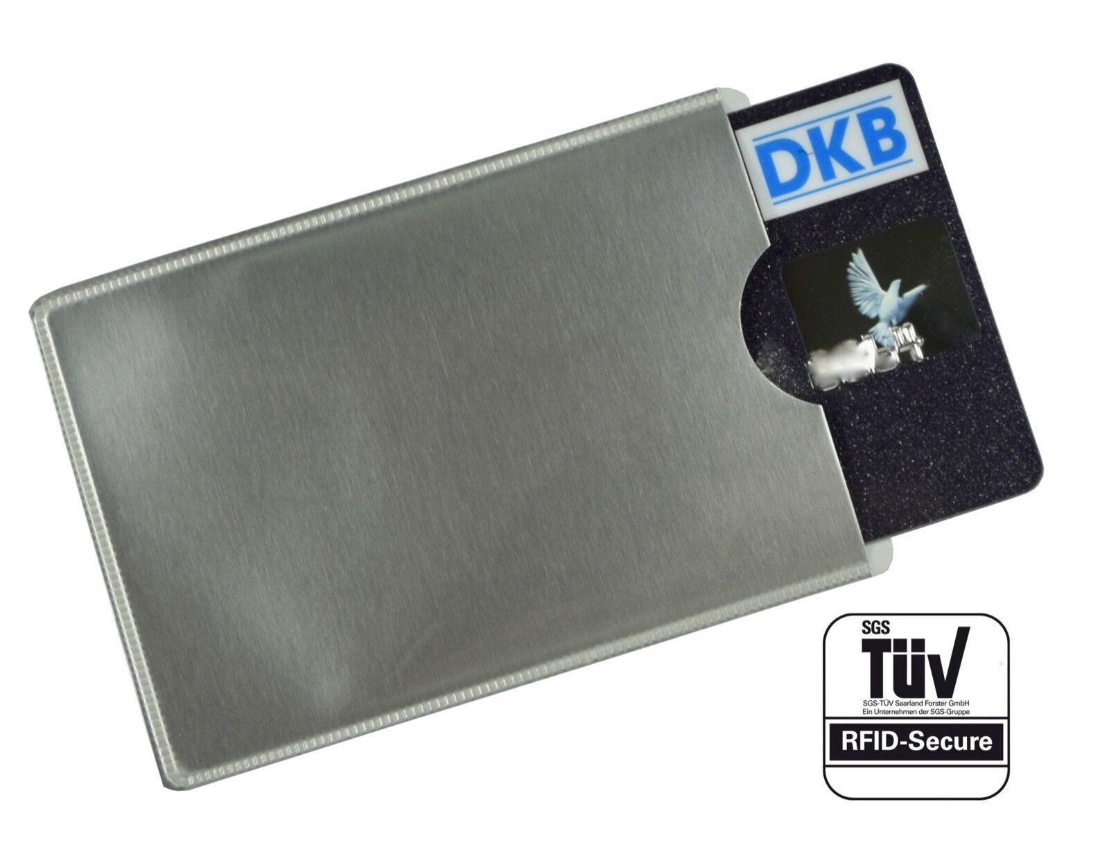 RFID Schutzhülle NEU Anti Skimming EC Kartenhülle Krotitkarte TÜV Geprüft Geprüft Geprüft NFC  | Lebensecht  17d814