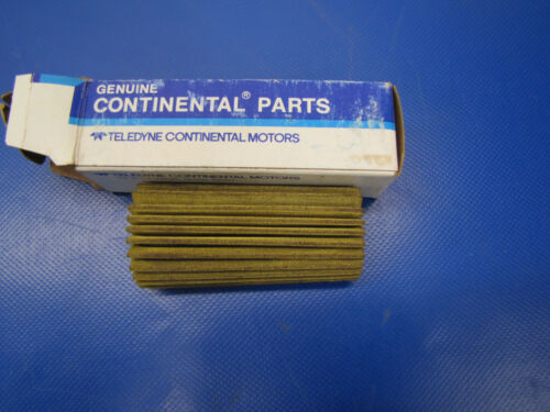 Continental Oil Screen Element P//N 538727-2 NOS 0417-28