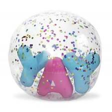 Pop Fix Confetti YAY Beach Ball - Summer Beach Inflatable Pool Swimming - NEW