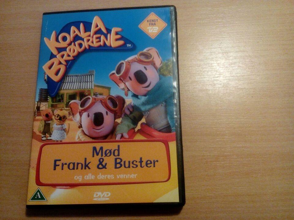 Koala brødrene / mød frank og Buster, DVD, andet