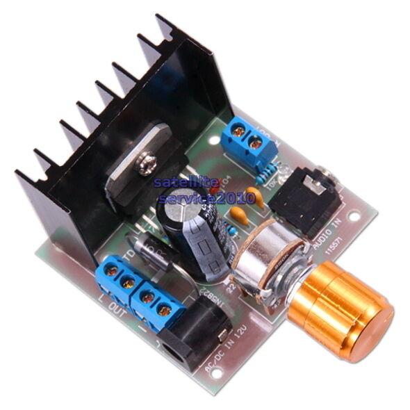 TDA7297 Amplificatore Stereo 2x15W Modulo 12V Audio Amplifier Board Dual-Channel