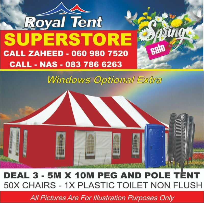 Spring Sale On Peg And Pole Tents