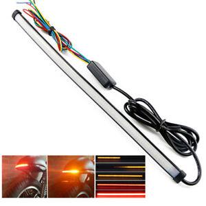 29cm-LED-Roller-Motorrad-Blinker-Bremsleuchte-Sequentiell-Laufeffekt-wasserdicht