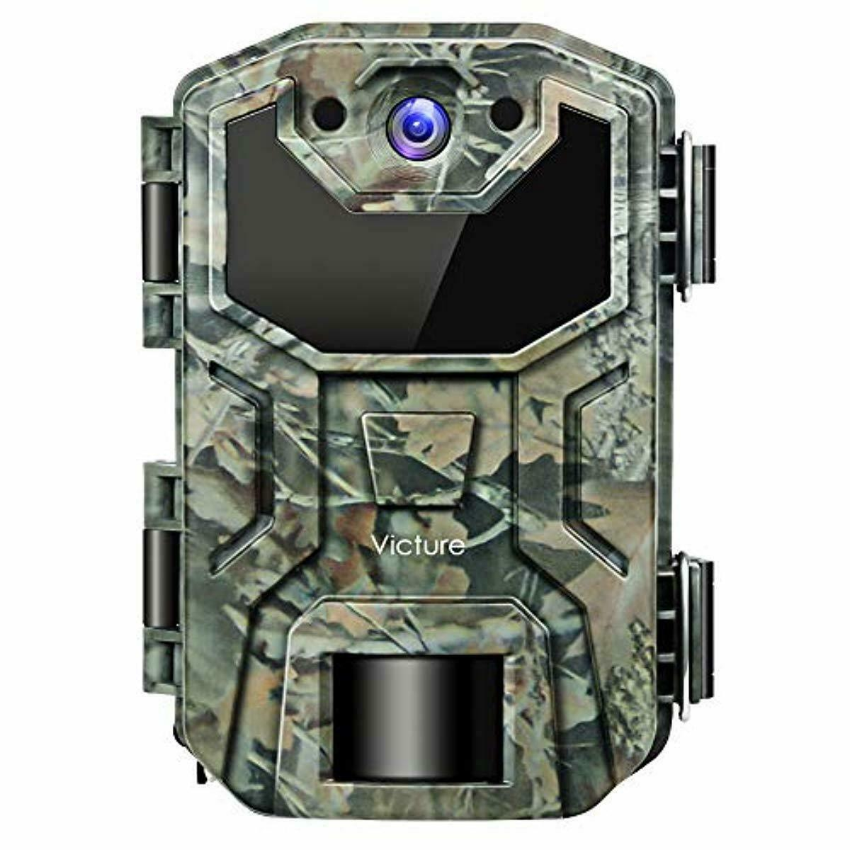 Victure Trail Game Camera 16mp Night Motion Activated Waterproof Design Hunting