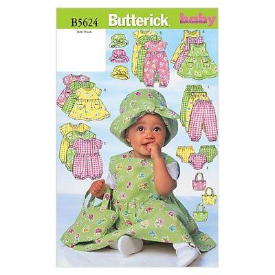 Butterick bebé fácil patrón de costura 6238 Chaqueta Mono Gratis Reino Unido P/&p P...