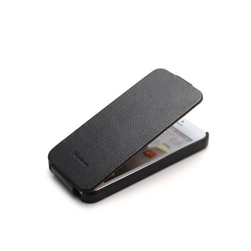 Slim Flip Genuine Leather Case Cover For Apple iPhone 5S