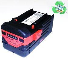 Original Hilti Akku  B 36  Li  36 Volt  Li-Ion   2,6 Ah. 2600 mAh  36 V