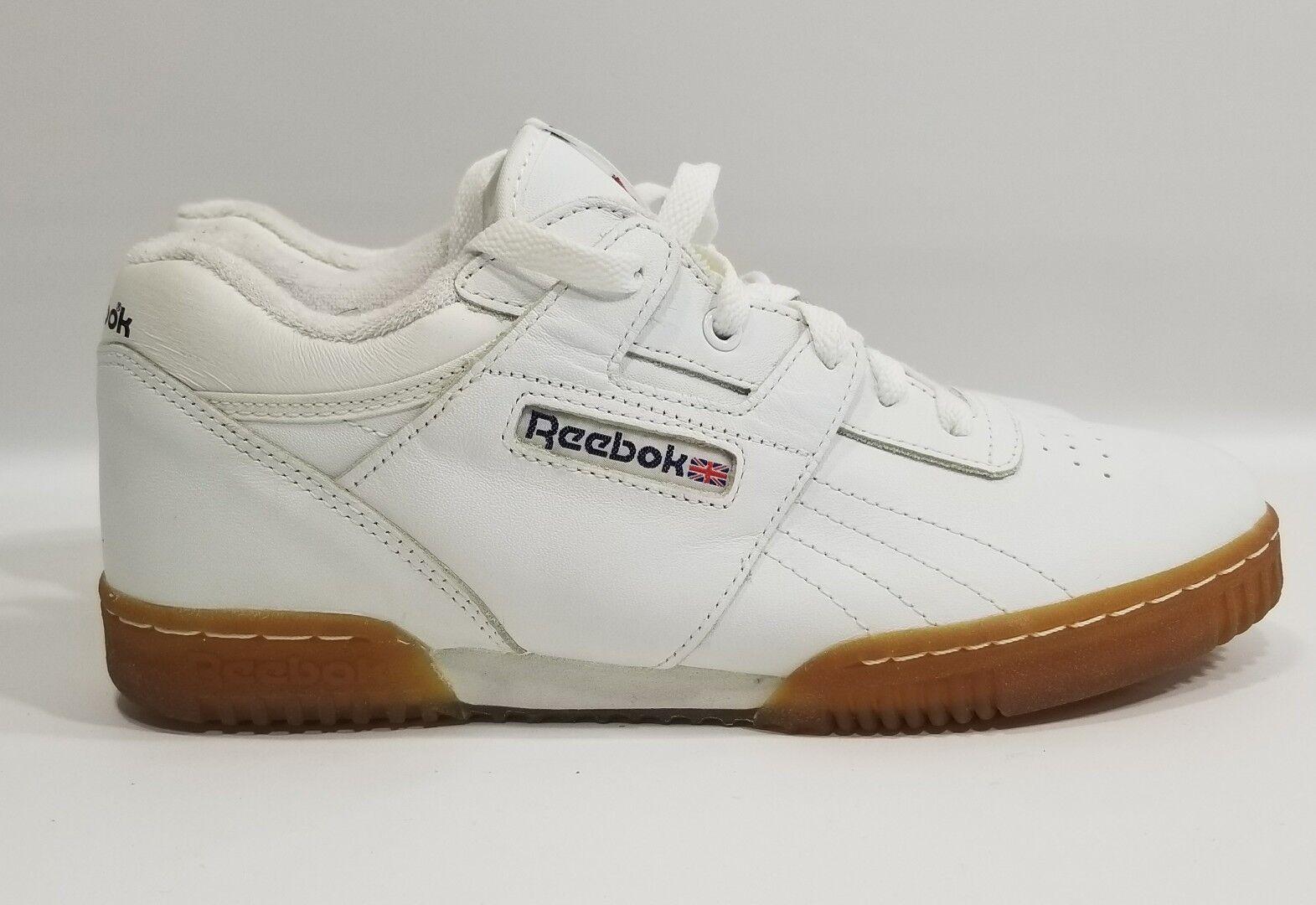Reebok Classic Vintage, Suela de goma zapatos zapatillas tamaño 5 blancoo 72-33988