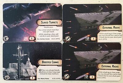 FFG OP Alternate Art Boosted Comms // Slaved Turrets Star Wars Armada