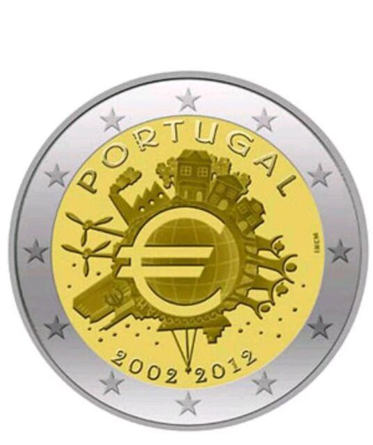 2 Euros Conmemorativos Portugal 2012