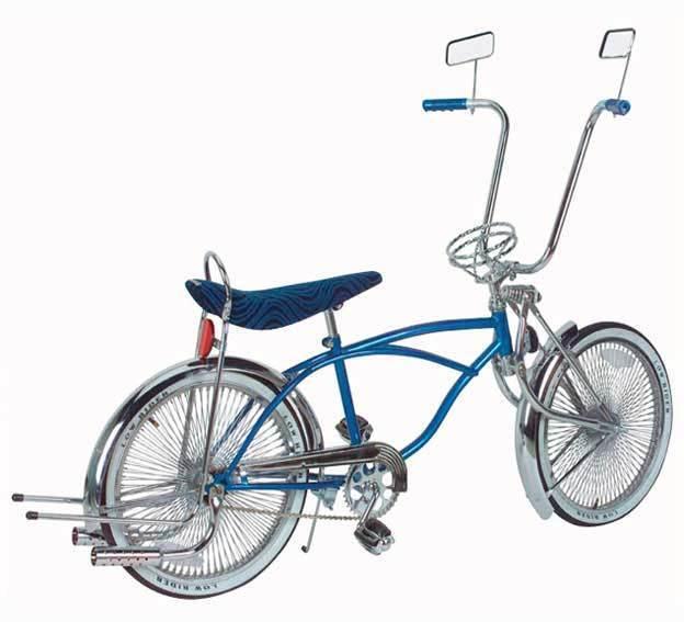 20  Lowrider Beach cruiser bike Bent fork 144 spokes with steering wheel Buffler