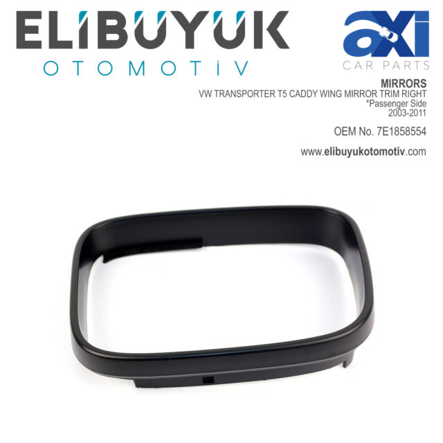 Right Driver side Wing door mirror glass for VW Caddy 2004-2015