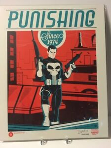 PUNISHER-Punishing-Signed-Autograph-Dave-Perillo-8x10-Art-Print-3000-BAM-Box