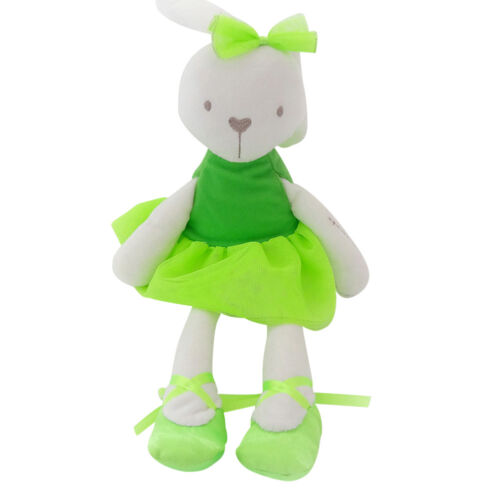 Lovely 35cm Soft Baby Bunny Mobile Soothe Plush Doll Stuffed Rabbit Toys Doll G