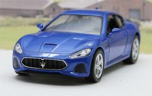 PERSONALISED-PLATE-Blue-Maserati-Diecast-Model-Boys-Dad-Toy-Car-Present-Boxed