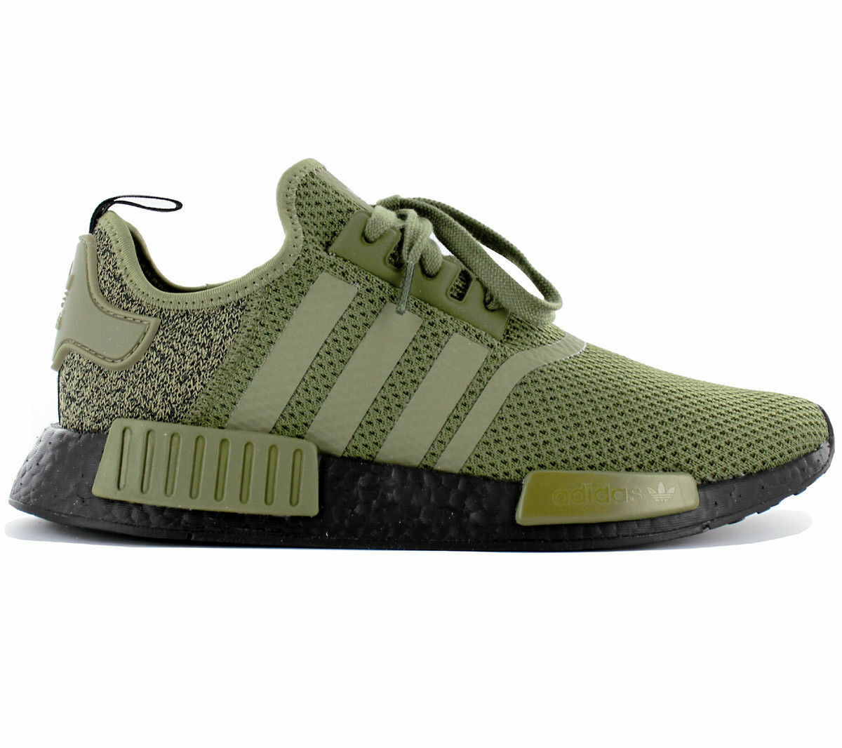 Adidas Originals NMD R1 AQ1246 Olive Green Black EU Exclusive Sneakers