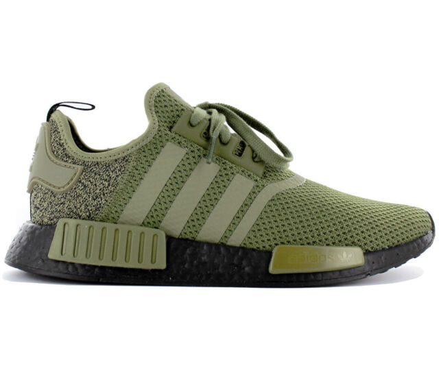 9f6a704ec adidas Originals NMD R1 Aq1246 Olive Green black US Europe Colorway ...