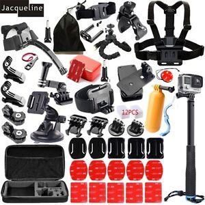 NUOVO-kit-accessori-Mount-per-Go-Hero-5-PRO-4-3-3-2-1-Xiaomi-Yi-SJCAM-EKEN-H9R
