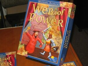 Web-Of-Power-Rio-Grande-Game-2000-Includes-Vatican-Expansion-NM