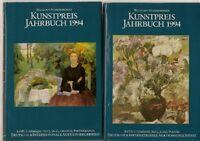 2 Bände Kunstpreis Jahrbuch 1994 Gemälde Preise Bilder Photographie Plastik