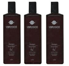 Lot of 3 Vibrance Hair Therapy Shampoo Daily Habits for Normal Hair 16 fl oz x 3