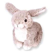 """Fuzzy Bunny 6"""" GY Stuffed Animal by Wild Republic 3+ Boys & Girls"""