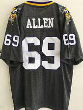 Reebok Premier NFL Jersey Vikings Jared Allen Grey sz M